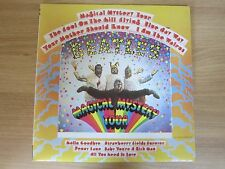 THE BEATLES - Magical Mystery Tour Korea LP 1993 INSERT