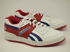 1980s REEBOK Vintage Leather Athletic Basketball Low Shoes Mens 44 - US 10
