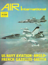 Air International V13 N6 Carriers Franco British Antelope Gazelle Macchi C.200