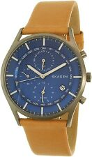 Skagen Men's Holst SKW6285 Beige Leather Quartz Watch