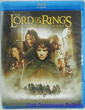 The Lord of the Rings The Fellowship of the Ring Blu-ray /DVD 2010   2-Disc Set