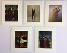 """""""le ballerine di selezione"""" da Jack Vettriano Set di 5 montato art prints 10"""" x 8"""""""