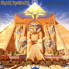 Iron Maiden Guitar Tab POWERSLAVE Lessons on Disc