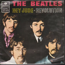 Beatles Hey Jude / Revolution Yugoslavia Import 45 With Picture Sleeve