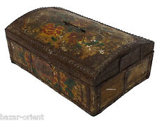 antik kiste truhe schmuckkasten Schatztruhe antique islamic trinket box 19 Jh.-D
