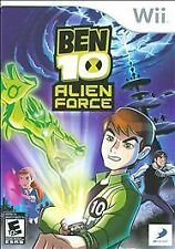 Ben 10: Alien Force (Nintendo Wii, 2008, NTSC-U/C (US/Canada) Region Game)