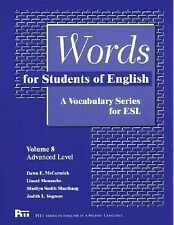 Pitt Series in English As a Second Language Ser.: Words for Students of...