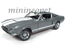 AUTOWORLD AMM1060 1967 FORD SHELBY MUSTANG GT 350 1/18 50TH ANNIVERSARY GRAY