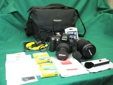 Nikon N80 SLR Camera with Nikkor 28-80 mm Promaster Spectrum 7 100-300mm