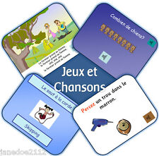KS2 French MFL Unit 2 -  JEUX ET CHANSONS Primary IWB Teaching Resources