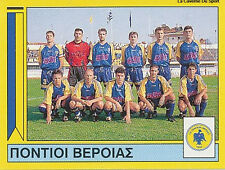 N°368 TEAM A.E. PONTION VERIAS GREECE PANINI GREEK LEAGUE FOOT 95 STICKER 1995