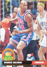 CARTE DE COLLECTION NBA BASKET BALL 1993  ALL DIVISION TEAM DERRICK COLEMAN (36)