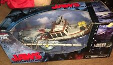 McFarlane Toys Jaws Shark Deluxe Box Horror Movie Maniacs Action Figure Boat Box