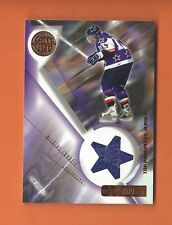 2001-02 UD PROSPECTS NICOLAS CORBEIL GAME-USED JERSEY #J-NC TORONTO MAPLE LEAFS