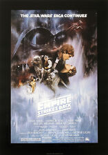 STAR WARS REPRO 1980 THE EMPIRE STRIKES BACK A3 FILM MOVIE POSTER a . NOT DVD