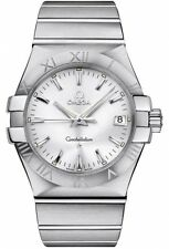Omega Constellation Quartz 35mm Steel Men's Watch 123.10.35.60.02.001