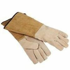 BRAND NEW HOMEBASIX 0224279 FIREPLACE PIGSKIN WOOD STOVE GLOVES