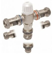Vado Protherm In-Line Thermostatic Valve Tmv3 Appro 15 + 22mm Includes VAT