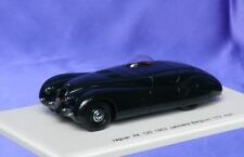 JAGUAR XK120 JABBEKE RECORD CAR 1953 SPARK S2114 1:43 FINE RESIN MODEL