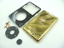 Black Faceplate Housing Gold Back Case Clickwheel for iPod 5th gen Video 30GB