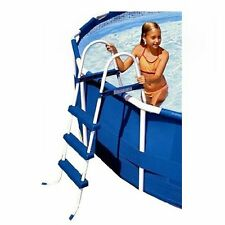 "Intex 36"" Above Ground A Frame Swimming Pool Ladder with Barrier 