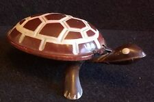 Wind Up Tortoise / Turtle Litho Tin Toy RARE VINTage Collectible GREAT PAINT