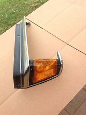 1981 Toyota Cressida Driver Side Corner Light Lens Trim Turn Signal marker (51)