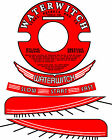"""Vintage antique WATERWITCH OUTBOARD MOTOR Decals 3.5"""" Flywheel"""
