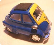 BMW Isetta blue Model car 1:38 Metal