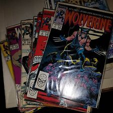 Wolverine (1987) Lot - Complete Series Set w/Issue #s 1-189, 10, 154, 155