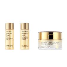 TONYMOLY Timeless Ferment Snail Eye Cream 30mL + Toner 20mL + Emulsion 20mL SET
