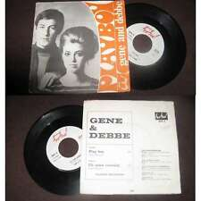 GENE & DEBBE - Playboy Rare French PS Pop 1967 BIEM