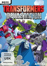 Transformers Devastation - deutsch - PC - Neu / OVP