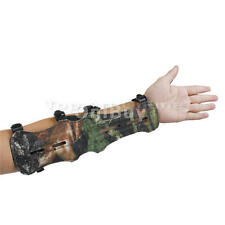 PU Leather Shoot Target Archery Arm Protection Safe/Straps Guard Protection Gear
