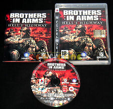 BROTHERS IN ARMS HELL'S HIGHWAY Ps3 Versione Italiana 1ª Edizione ••••• COMPLETO