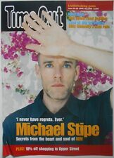 MICHAEL STIPE R.E.M. Time Out Magazine Rare Orig Official UK Publicity POSTER