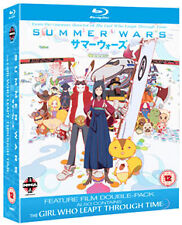 SUMMER WARS / THE GIRL WHO LEAPT THROUGH TIME - BLU-RAY - REGION B UK