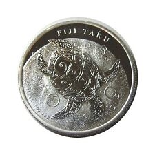 elf Fiji Islands 2 D 2011 Silver  Hawksbill Turtle
