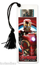 Film Cell Genuine 35mm Marvel's Avengers Age of Ultron Iron Man Bookmark USBM712