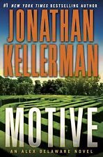 MOTIVE (ALEX DELAWARE) BY JONATHAN KELLERMAN - ( NEW ) (1st EDITION H/C)