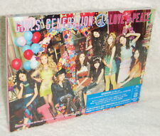 Girls' Generation LOVE & PEACE 2013 Taiwan Ltd CD+BLU-RAY (3rd Japanese Album)
