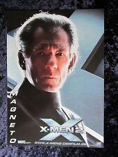 X-MEN 2  lobby card,  original german still #1 -  MAGNETO, IAN McKELLAN