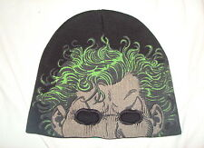 DC Comics Batman Joker Evil Clown Beanie Half Mask Hat Cap Super Villain. NEW!