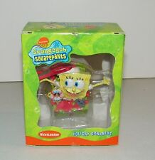 Nickelodeon Spongbob Squarepants Bikini Bottom Holiday Christmas Ornament EC