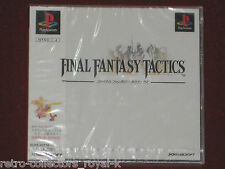 *New & Factory Sealed* PS1 FINAL FANTASY TACTICS NTSC-J Japan Import PlayStation