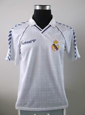 Original Real Madrid Home Football Shirt Camiseta 1989/1990 (L)