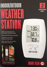 Smart Gear Indoor/Outdoor NEW!  Wireless desktop temperature weather station