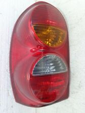 Jeep Liberty Tail Light Assembly Left Driver Side 03 OEM