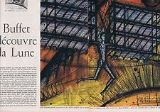 Coupure de presse Clipping 1958 Bernard Buffet (4 pages)