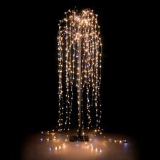 1.3m Brown Slim LED Weeping Willow Christmas Tree